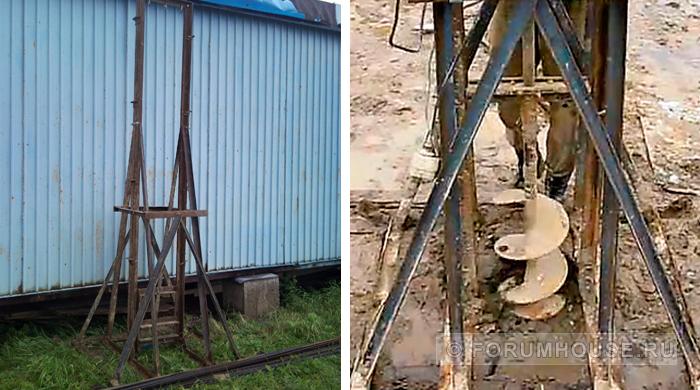 Самодельные инструменты: дровокол, бетономешалка, ямобур - сделай сам - всё о даче - снт тополек