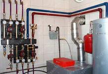 Монтаж систем отопления частного загородного дома