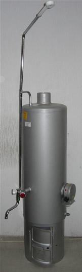 Водонагреватель дровяной часто называют титаном. . Применение водонагреват