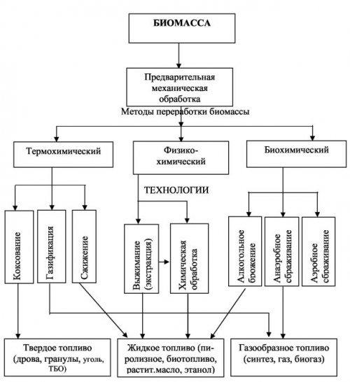 Переработка биомассы. способы переработки биомассы.