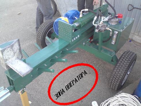 Как сделать гидравлический дровокол