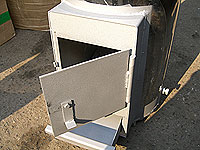 Колонка квс-10 нержавейка (дрова+электричество)