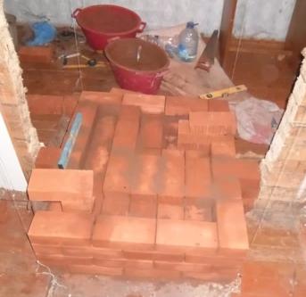 Печи для дома на дровах из кирпича