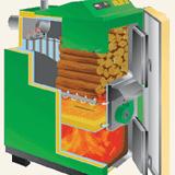 Автономное отопление: твердое топливо
