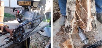 Самодельные инструменты: дровокол, бетономешалка, ямобур — сделай сам  — всё о даче — снт тополек