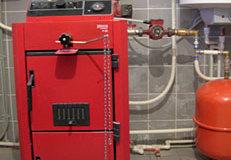 Отопление на твердом топливе (дровах, угле). проектирование и монтаж систем отопления на основе твердотопливного котла