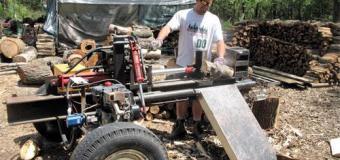 Самодельный дровокол  — техника и инструменты для дачи, огорода — огород