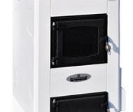 Газогенераторные печи, плиты отопительные — пиролизная печь, работающая на дровах