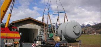 Когенерационные турбины на  биомассе и на отходящем тепле , электрической мощностью 400 — 2700 квт — органический цикл ренкина — chp unit organic rankine cycle — turboden — domus rapide